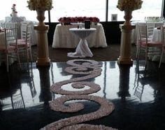 Heart of Hearts White Silk Rose Petal Swirl by PetaleDeRose