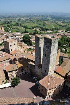 San  Giminiano, Toscana, Italy www.european-backpacking.com #europeanbackpacking