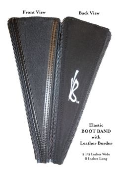 Boot Band - Expanding Your Options! - Elastic YKK Size 5 Coil