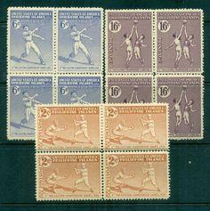 Philippines 1934 Tenth Far Eastern Championship Games Blks 4 MUH lot82556