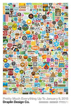 Pretty Much Everything Up To January 9, 2015. Draplin Design Co.