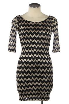 Open Back Zig Zag Dress. $31. Sale Ends Tuesday, April 17th at Midnight PT.