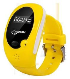 Đồng hồ định vị GPS cho trẻ em (Vàng)