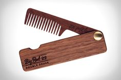 Saving the planet should never be procrastinated and little things like this Folding Beard Comb from Big Red is a little step toward a sustainable planet.