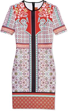 Clover Canyon Old Cow Hand Dress in Red (red multi) - Lyst