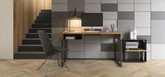 nowoczesne biurko woodbox w stylu skandynawskim od TakeMeHome