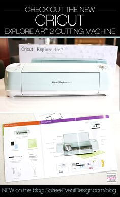   Check out the NEW Cricut Explore Air™ 2 and up your DIY game!   http://soiree-eventdesign.com