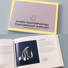 Fandt denne hér i min postkasse i weekenden 💪 #joyeríacontemporáneaanuario 2016-17 #contemporaryjewelleryyearbook #grupoduplex #gold #guld #silver #sølv #diamond #diamant #smykker #jewelry #jewellery #guldsmed #jeweller #goldsmith #handcrafted #handmade #danishdesign #guldsmedlouisedegn