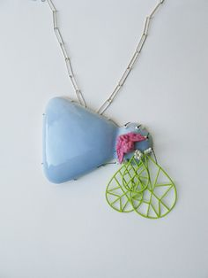 MELISSA TOLAR-USA - enamel necklace