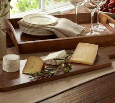 Vintage Wood Cheese Boards
