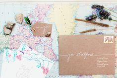 Whimsical Floral Wedding Invitations Belinda Love Lee5