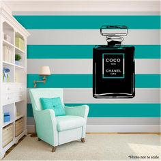 COCO CHANEL Love Family Vinyl Wall Art quote Home Decor Decal Word Phrases black in Home & Garden, Home Décor, Decals, Stickers & Vinyl Art | eBay