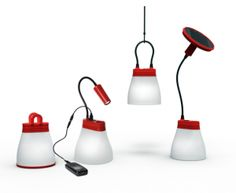 The BELL - all in one solar lamp and mobile phone charger