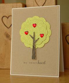 Handmade Love or Valentine's Card