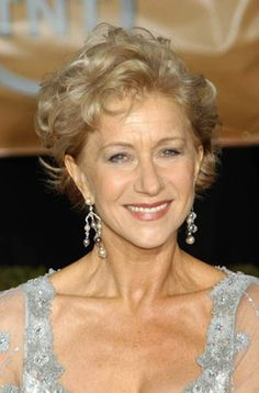 Very Short Curly Hairstyles for Women Over 50