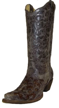 Women's Caiman Inlay Boot by Corral Boots