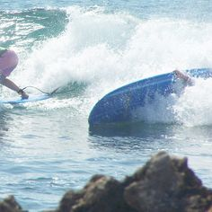 I do not excel at surfing.