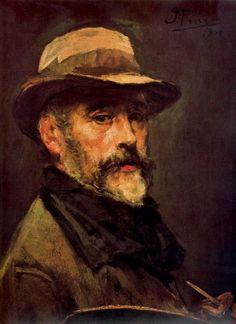 Ignacio Pinazo Camarlench - Autorretrato