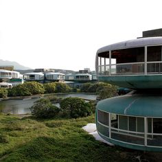 719  San Zhi   The Abandoned Pod Village in Taiwan