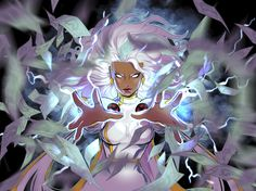 Storm Backpack for Sprayground Storm Comic, Storm Xmen, Storm Marvel, Comic Movies, Comic Games, X Men Personajes, Ororo Munroe, Marvel Comics Art, Black Panther