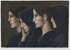 Veikko Vionoja, 1981, litografia, edition 86/100 - Hagelstam A136