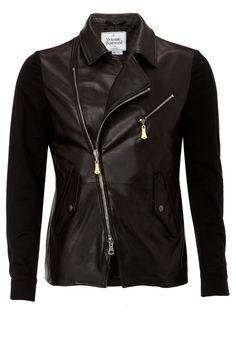 Salt & Pepper Leather Jacket - Vivienne Westwood...... MUST HAVE!!