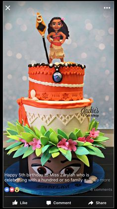 That's a beautiful cake. Love the details.