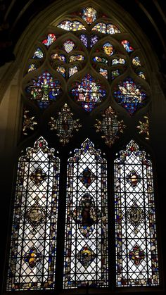 Stained Glass Window  Christ Church Oxford