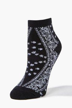Now And Forever, Forever 21, Unique Socks, Funky Socks, High Knees, Black History Month, Ankle Socks, Paisley Print, Crew Socks