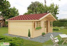 Votre abri de jardin bois Laurier 17 de chez Galanis est fabriqué en sapin naturel prêt à traiter, certifié FSC. Véritable espace de vie, votre abri en bois aménagera votre jardin tout en vous apportant un espace semi-habitable. L'abri dispose d'une ... (suite)
