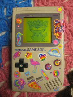 my first one was an advance but i still love this....lisa frank + pokemon <3