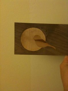 My first marquetry piece.