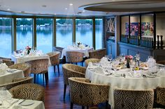 AmaPrima chef's table is complimentary dining venue #gourmetdining #rivercruising