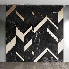 Luxury Home Decoration Ideas Feature Wall Design, Wall Panel Design, Wall Tiles Design, Wall Decor Design, Floor Design, Floor Patterns, Wall Patterns, Interior Walls, Bathroom Interior Design