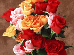 Be it Red, Yellow, Orange or Pink rose, it makes you feel so special! :)