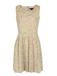 302 Wildwood Embroidery Oatmeal Dress, MARC BY MARC JACOBS