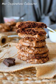 Les cookies brownies au chocolat