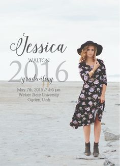 Spread the news of your graduation with The Simplicity Portrait Graduation Announcement. Personalize yours with unlimited color and font combinations. Senior Graduation Quotes, High School Graduation, Graduation Pictures, Graduate School, Senior Pictures, Senior Announcements, College Graduation Announcements, Cap College, Grad Cap