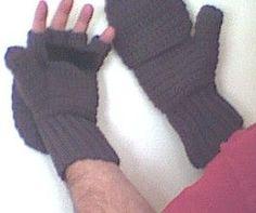 Crocheted Mittens / Fingerless Gloves