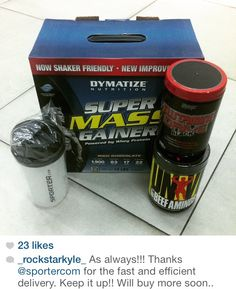 #SuperMass #supplements #sporter