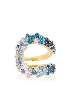 72becb8328d14 Blue Degrade Mirian Ring by ANA KHOURI for Preorder on Moda Operandi  Fashion Jewelry Necklaces,