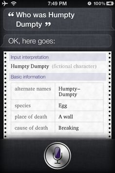 Siri, who's the boss?
