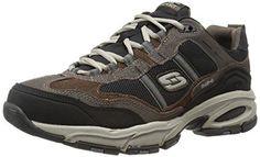 Skechers Sport Men s Vigor 2.0 Trait Memory Foam Sneaker   women spumpswithmemoryfoam Brown Sneakers 68fed652ea