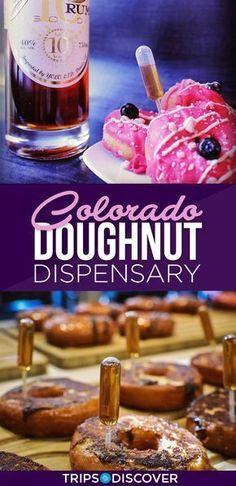 Foodie Travel 325455510564775348 - Enjoy Boozy Donuts at Colorado's Habit Doughnut Dispensary Source by tripstodiscover Denver Colorado, Estes Park Colorado, Aspen Colorado, Road Trip To Colorado, Visit Colorado, Colorado Mountains, Visit Denver, Colorado Vacations, Denver Travel