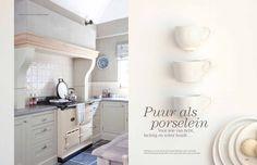 "Mia Colore, kleur Design White"",  reportage in Wonen Landelijke Stijl, editie 01/2013, fotografe Sarah van Hove"