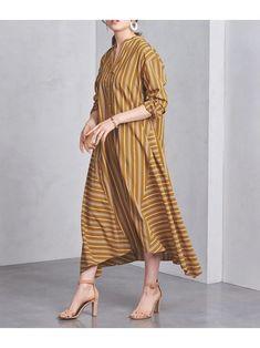 【ユナイテッドアローズ/UNITED ARROWS】のUWSC マルチストライプ ワンピース † レディースファッション・服の通販 founy(ファニー) ファッション Fashion レディース Women ワンピース Dress シャツワンピース Shirt Dresses トップス Tops Tshirt シャツ/ブラウス Shirts Blouses ストライプ ドレープ ロング エスニック イレギュラーヘム other-1|ID: prp329100000953310 ipo3291000000007087137 Blouse Models, One Piece Dress, Japan Fashion, Her Style, Day Dresses, Ready To Wear, Wrap Dress, Shirt Dress, Womens Fashion