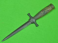 Antique Old British English England 18 19 Century Dagger Fighting Knife