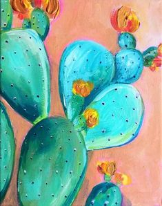 Desert Rose III Original Painting A colorful cactus painted in acrylic with metallic gold accents 8 8243 8243 Original acrylic painting on stretched canvas by Christine piece is painted with professional acrylic paints and metalli Cactus Painting, Cactus Art, Diy Painting, Cactus Plants, Cacti, Roses Painting Acrylic, Acrylic Paint On Canvas, Cactus Decor, Painting Canvas