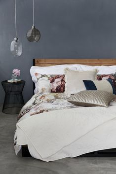 A space to flourish! Curate your sleep space with floral prints.