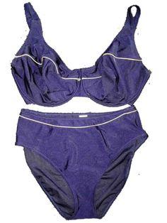 084783e4861ce New Anita Navy Blue Underwired Bikini Set UK 18 for H cups Swimwear No  Padding #